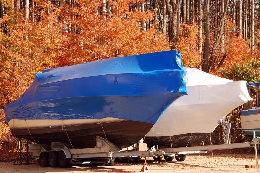 Keep insurance on boat