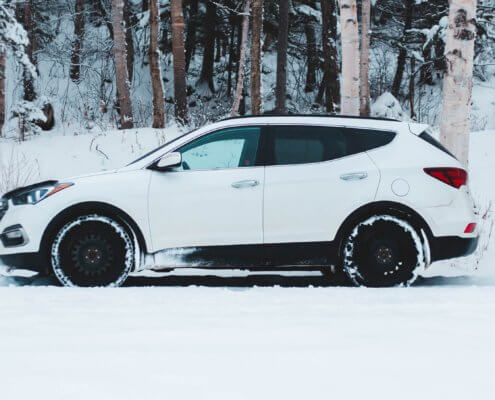 Choosing winter tires or all-season tires for your vehicle in Opelousas, LA